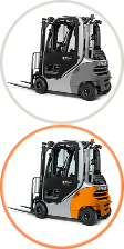 Benzin/LPG Forklift