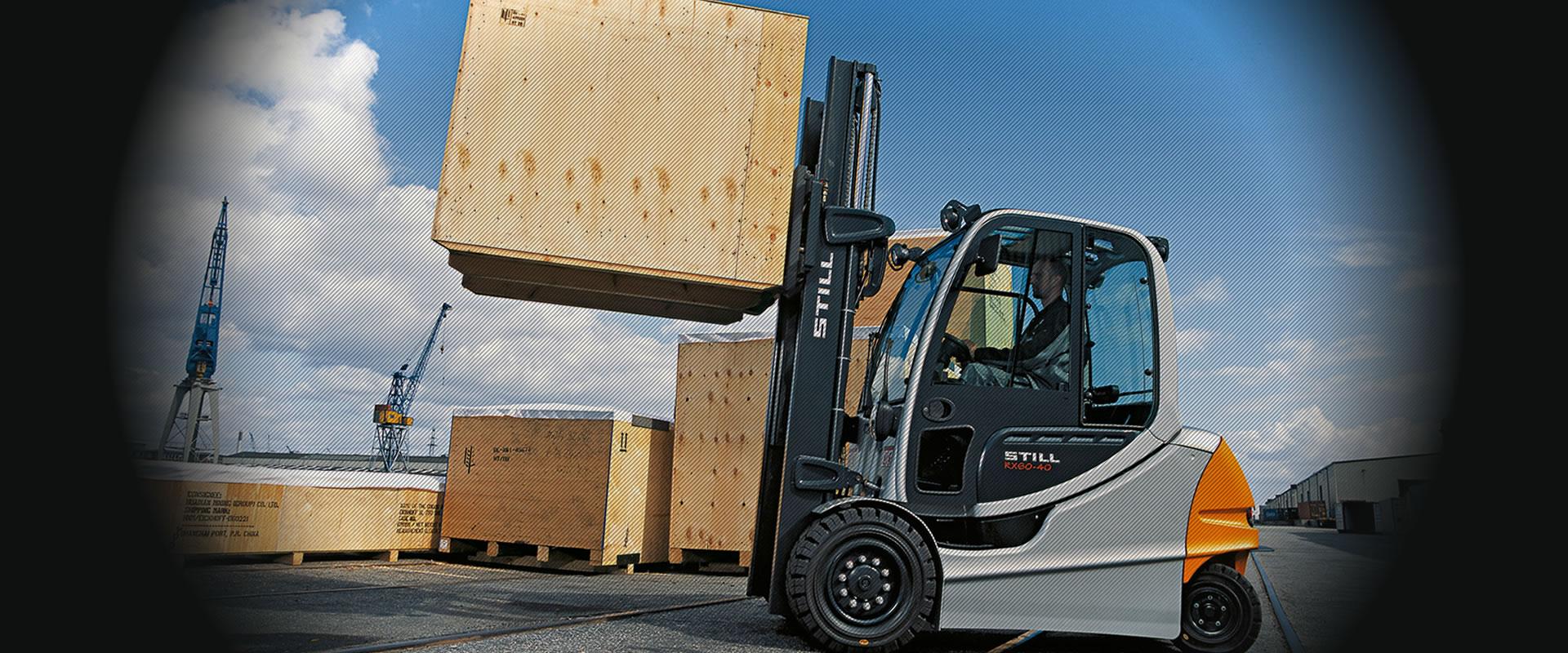 Forklift, İstif Makinası, Transpalet…