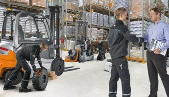 Forklift Servis Tamir